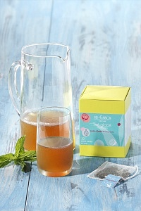 La maison George Cannon commercialise de thés pour une préparation à froid.
