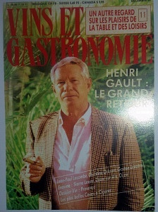 couverture Vins et Gastronomie : Henri Gault