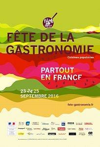 affiche fete gastronomie 1