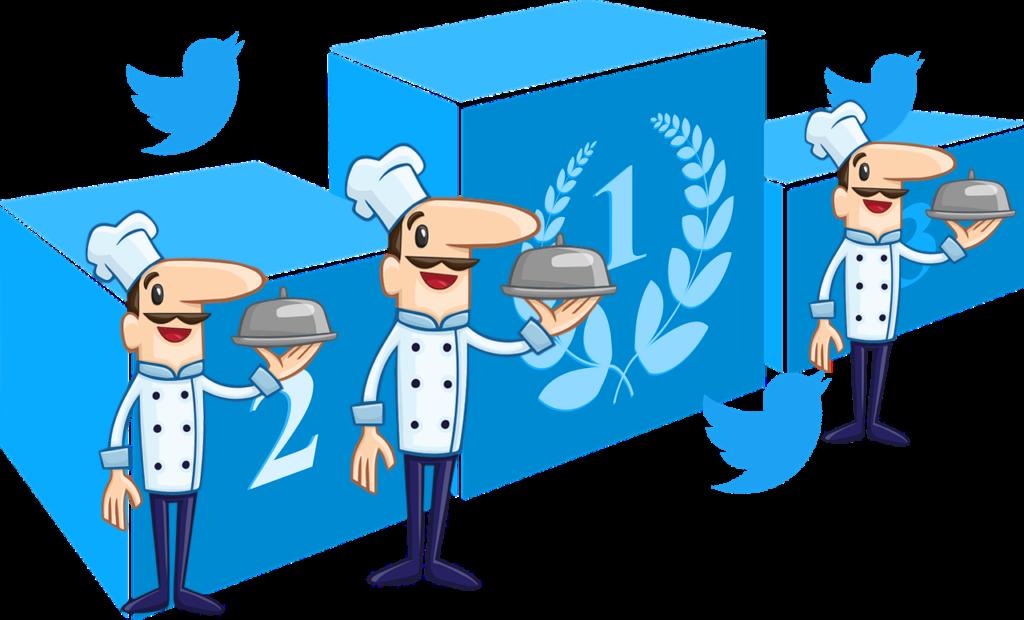 Gastronomie, classement des chefs Français les plus influents sur twitter